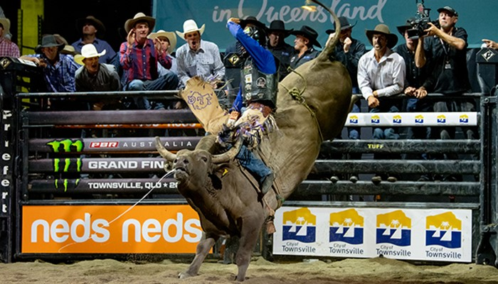 Lachlan Richardson Dominates Opening Rounds of 2020 PBR Australia Grand Finals to Hone in on Career-First National Championship