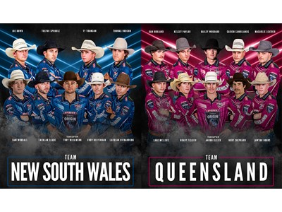 Team New South Wales and Team Queensland Announced Ahead of PBR Origin I in Newcastle July 3
